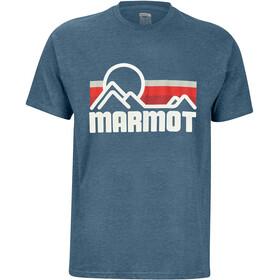 Marmot Coastal SS Tee Men true royal heather